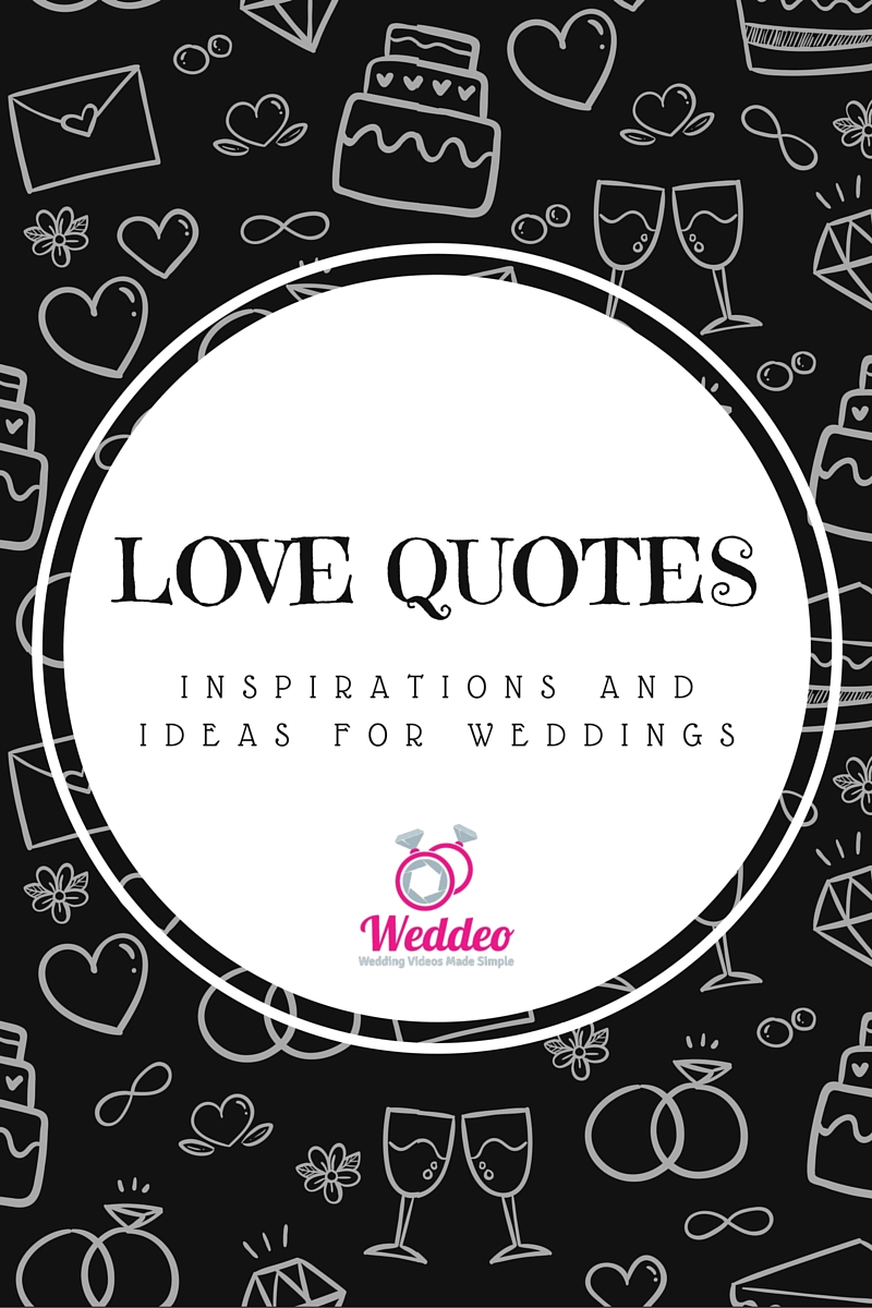 How to find great wedding love quote ideas