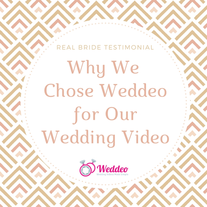 Real Bride Testimonial: Why Beka Chose Weddeo for Her Wedding Video Alternative